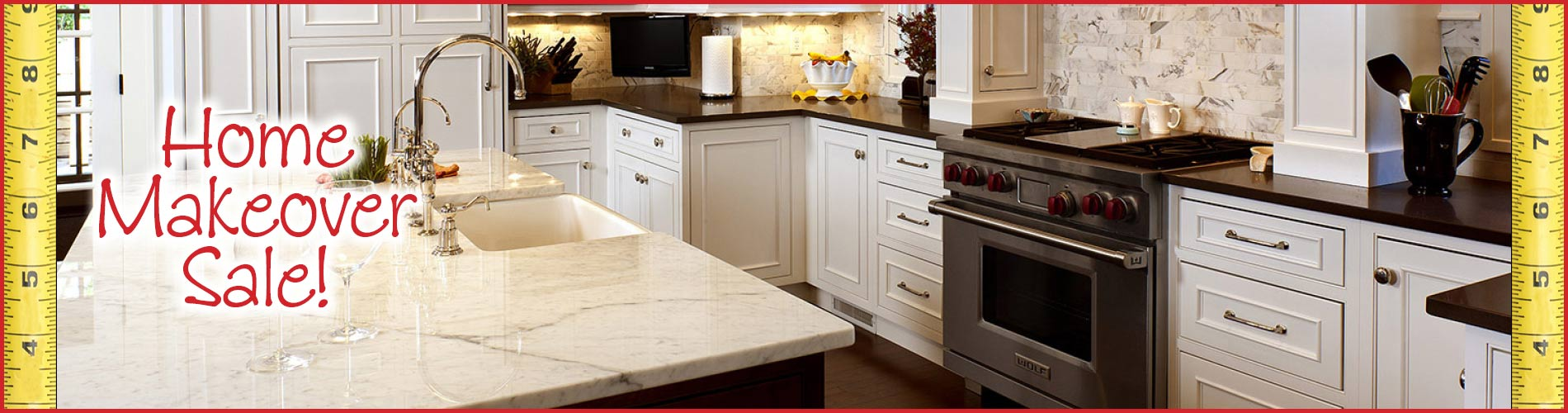 Save on all our Cabinetry this month - stop by one of our showrooms today!